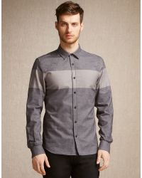 Belstaff | Gray Woodham Shirt for Men | Lyst