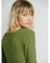 Free People | Green El Topo Dress | Lyst