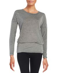 Bench | Green Bemuze Long Sleeve Top | Lyst