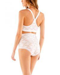 Cosabella - White Glam Shapewear Brief - Lyst