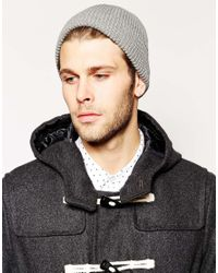 ASOS - Purple Fisherman Beanie Hat 2 Pack Save 17% for Men - Lyst