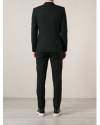 Givenchy - Black V-Neck Suit Jacket for Men - Lyst