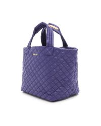 MZ Wallace - Blue Small Metro Tote  Midnight - Lyst