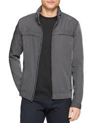 Calvin Klein | Gray Lightweight Jacket for Men | Lyst