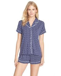Splendid | Blue Short Pajamas | Lyst
