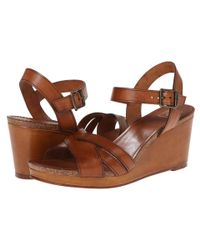 Frye | Brown Margo Wedge | Lyst