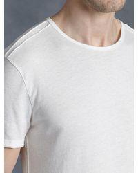 John Varvatos | White Cotton Crewneck for Men | Lyst