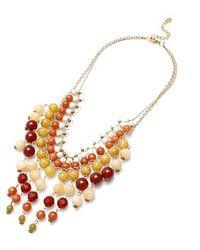 Nakamol | Multicolor Bora Necklace-read Agate | Lyst