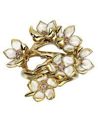 Shaun Leane - Metallic Cherry Blossom Ring - Lyst