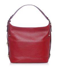 MICHAEL Michael Kors | Red Bedford Shoulder Bag | Lyst