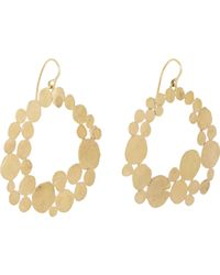 Judy Geib | Metallic Gold Squash Hoop Earrings | Lyst