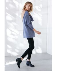 Truly Madly Deeply - Blue Barre Pullover Sweatshirt - Lyst