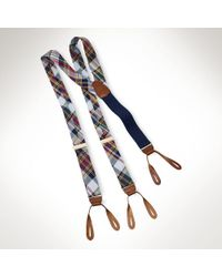 Polo Ralph Lauren | Multicolor Madras Belt for Men | Lyst