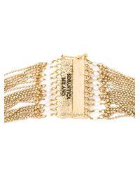 Rosantica | Metallic Faux Pearl Multi Strand Necklace | Lyst