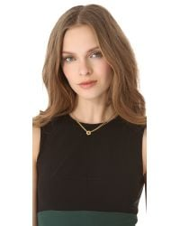 Marc By Marc Jacobs - Metallic Tiny Bolts Necklace - Oro - Lyst