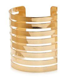 Forever 21 | Metallic Linear Cutout Arm Cuff | Lyst