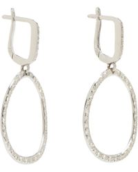 Ileana Makri | Diamond White Gold Again Single Earrings | Lyst