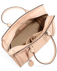 Alexander McQueen - Pink Large Padlock Satchel Bag - Lyst