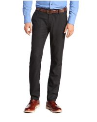 BOSS Orange | Blue 'sairy-w' | Slim Fit, Stretch Viscose Textured Chinos for Men | Lyst