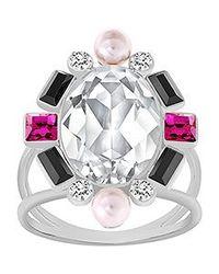 Swarovski | Metallic Blanche Ring | Lyst