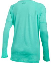 Under Armour - Blue Favorite Long Sleeve Shirt - Lyst