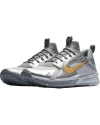 Nike - Metallic Alpha Huarache Turf Baseball Trainers for Men - Lyst