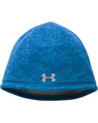 6761dd50cb3 Lyst - Under Armour Coldgear Infrared Elements Storm 2.0 Beanie in ...