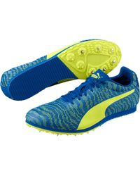 PUMA - Blue Evospeed Star 6 Track And Field Shoes for Men - Lyst