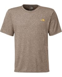 The North Face - Gray Reaxion Amp T-shirt for Men - Lyst