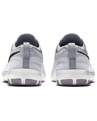 a00c66acd874 Lyst - Nike Free Tr Focus Flyknit Training Shoes in Gray for Men