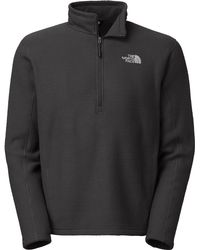 The North Face - Gray Sds Half Zip Fleece Pullover for Men - Lyst