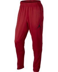 ef553b863aa6 Jordan - Red Air 360 Fleece Pants for Men - Lyst