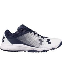 Under Armour - Blue Yard Baseball Trainers for Men - Lyst