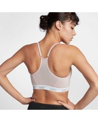 Nike - Multicolor Pro Indy Soft Padded Sports Bra - Lyst