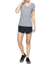 Under Armour - Gray Threadborne Streaker Running T-shirt - Lyst