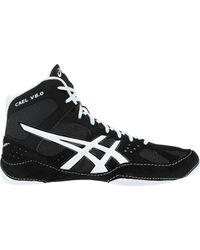Asics - Black Cael V6.0 Wrestling Shoe for Men - Lyst