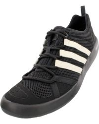 Adidas Black Outdoor Climacool Boat Lace Water Shoes for men