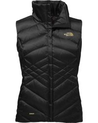 The North Face - Black Aconcagua Down Vest - Past Season - Lyst