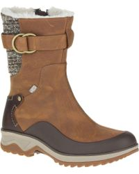 Merrell - Brown Eventyr Mid North Waterproof 200g Winter Boots - Lyst