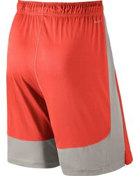 Nike - Orange 9'' Fly Shorts for Men - Lyst
