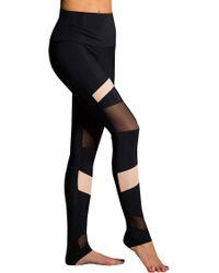 Onzie - Black High Rise Bondage Leggings - Lyst