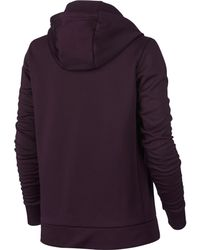Nike - Purple Therma Training Hoodie for Men - Lyst