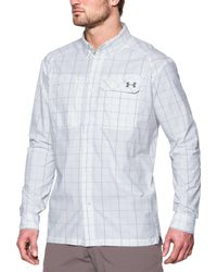 Under Armour - White Fish Hunter Long Sleeve Shirt for Men - Lyst