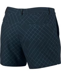 Nike - Blue Flex Woven Golf Shorts - Lyst