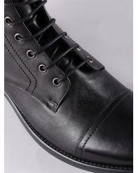 DIESEL Black Hardkor Boot for men