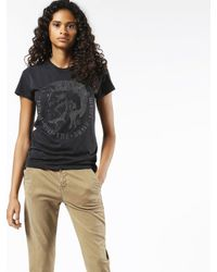 DIESEL - Black T-sully-ad - Lyst