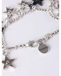 DIESEL - Metallic A-stardreamy - Lyst
