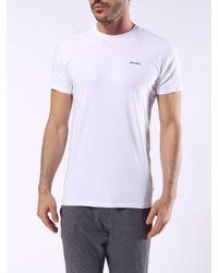 DIESEL | White Umtee-randal2pack for Men | Lyst