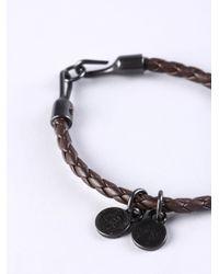 DIESEL | Black Asanty Bracelet | Lyst