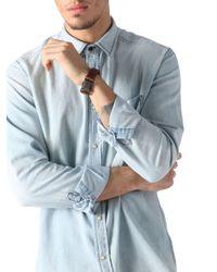 DIESEL - Brown Awring Bracelet for Men - Lyst